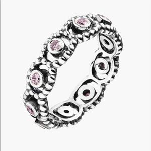 Pandora Her Majesty Pink Ring